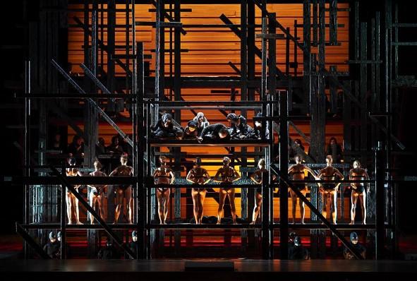 Khovànxtina producció de Lev Dodin per a la Staatsoper de Viena. Fotografia web Staatsoper