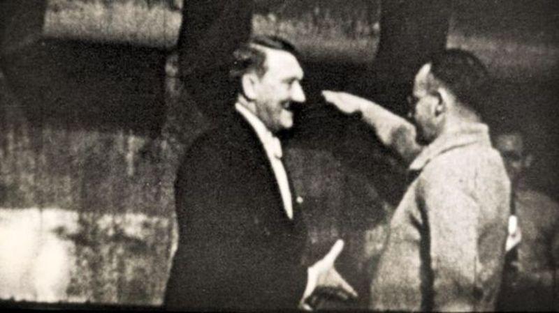 Hitler i Heinz Tietjen © Hans-Jürgen Syberberg