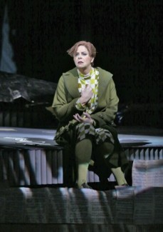 Susan Graham (Comtesa Geschwitz) a Lulu MET. Fotografia: Ken Howard/ Metropolitan Opera.
