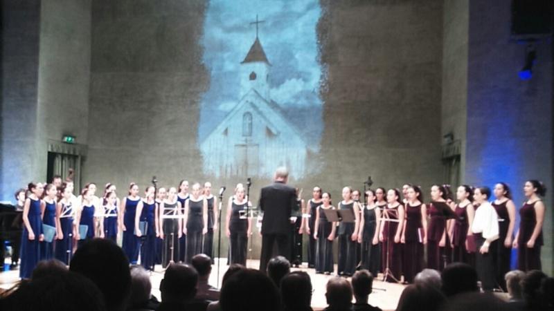 Cor Vivaldi i Kirby Shaw 7 de novembre de 2015 (Auditori Axa) Fotografia IFL