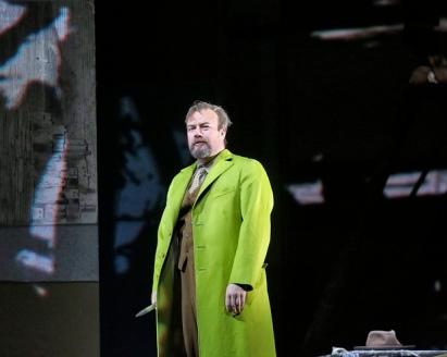 Johan Reuter (Jack l'esbudellador) . Fotografia: Ken Howard/Metropolitan Opera