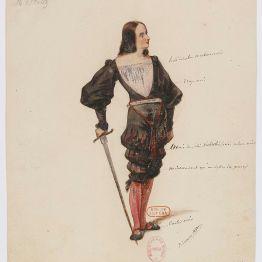 Ascanio, disseny per a Rosina Stolz de Paul Lormier