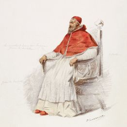 El Papa Clement, disseny per l'estrena de Paul Lormier