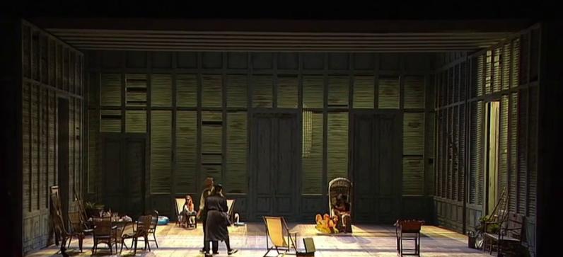 Le nozze di Figaro, producció de Jürgen Flimm i Gudrun Hartmann per a la Staatsoper de Berlín