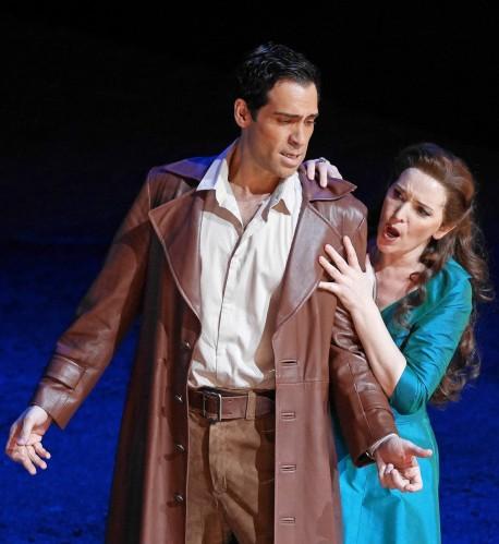 Ismael Jordi (Edgardo) i Maria José Moreno (Lucia) Fotografia Premsa Liceu © A Bofill