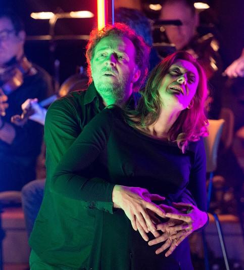 Christian Gerhaher i Monika Ritter Casa a Pelléas et Mélisande a la Philharmonie de Berlín. Fotografia Monika Ritter Casa