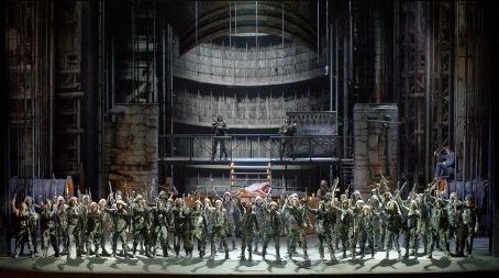 Parsifal al Teatro Colón de Buenos Aires, producció de Marcelo Lombardero 2015 Foto de Arnaldo Colombaroli