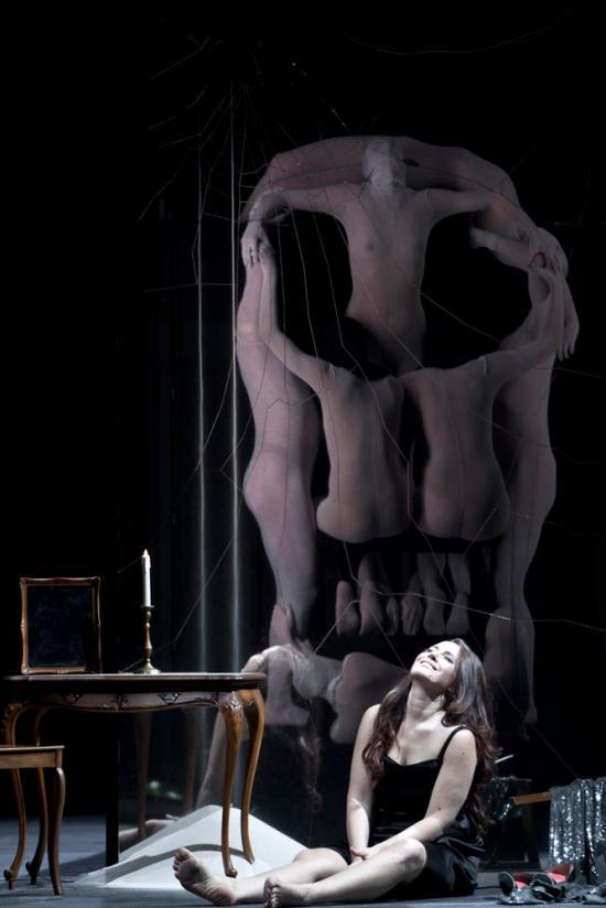 Sonia Yoncheva Violetta a la Staatsoper Berlin. Fotografia © Bernd Uhlig