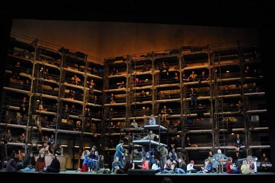 Otello Liceu. Producció d'Andreas Kriegenbourg Foto © A Bofill gentilesa del Departament de Premsa del GT del Liceu.