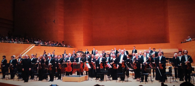 Orquestra Filharmònica de Munic i Valery Gergiev. L'Auditori 17 de gener de 2016 foto IFL