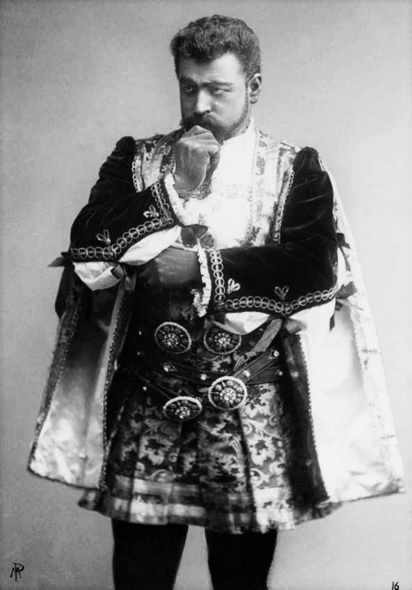 Francesco Tamagno com a Otello