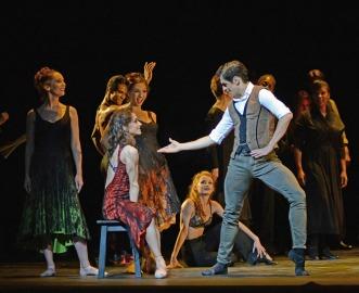 Marianela Nunez (Carmen) i Federico Bonelli (Escamillo) a la Carmen de Carlos Acosta Fotografia © Dave Morgan