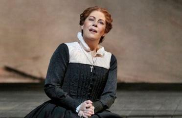 Sondra Radvanovsky (Maria Stuarda) Foto de Ken Howard © 2016 The Metropolitan Opera.