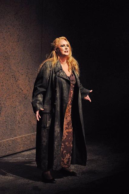Iréne Theorin (Brünnhilde) Gran Teatre del Liceu 28 de febrer de 2016 Fotografia ® A Bofill gentilesa del Premsa del Gran Teatre del Liceu
