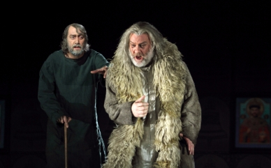 Boris Godunov Anger i Terfel. Fotografia de Catherine Ashmore