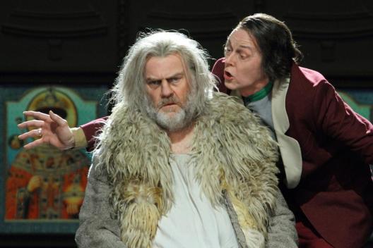Boris Gudonov Bryn Terfel i John Graham-Hall (Suiisky) Fotografia Royal Opera House Catherine Ashmore
