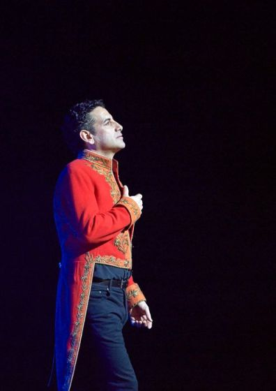 Juan Diego Flóres (Roméo) a la Staatsoper de Viena. Fotografia © Michael Pohn-Opera de Viena