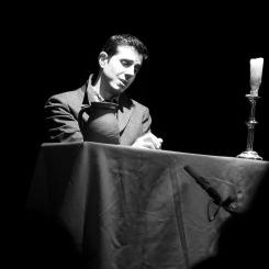 Joan Martín Royo Winterreise al Teatre de Sarrià 13 de març de 2016. Fotografia gentilesa de Josep Colet