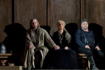 Parsifal på Kungliga Operan 2016. I rollen som Gurnemanz, Thorsten Grümbel, Kundry; Katarina Dalayman, Parsifal; Michael Weinius.