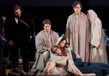 Parsifal på Kungliga Operan 2016. I rollen som Amfortas; Peter Mattei, Parsifal; Michael Weinius