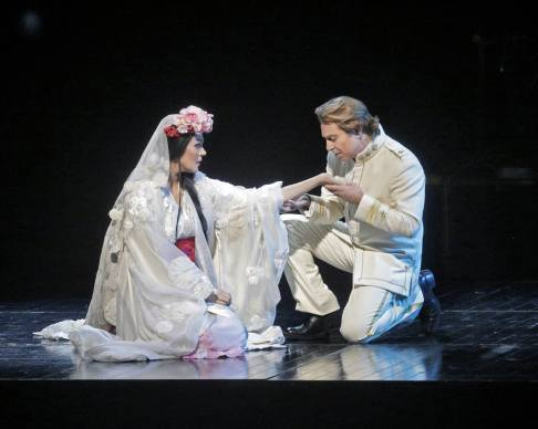 Opolais i Alagna Marty Sohl/Metropolitan Opera