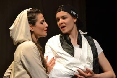 Serena Sáenz i Karina Repova a Il Conte di Marsico. Fotografia dels AMics de l'Òpera de Sarrià