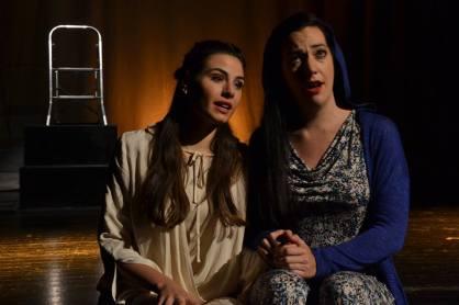 Serena Sáenz i Marina Viotti a Il Conte di Marsico. Fotografia Amics de l'Òpera de Sarrià