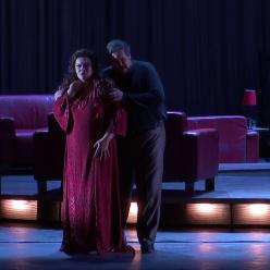 Vuioleta Urmana (Kundry) i Stephen Gould (Parsifal)
