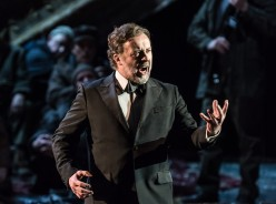 Christian Gerhaher (Wolfram)  a la ROH copyright ROH. Photo by Clive Barda.