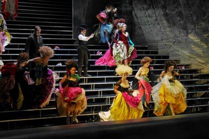 I Capuleti e i Montecchi producció de Vincent Boussard, vestuari de Christian Lacroix. Fotografia Premsa Liceu A.Bofill