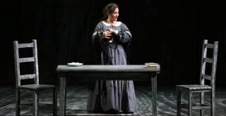 Barbara Haveman (Minnie) a La fanciulla del West. Producció de Robert Carsen Acte 2on