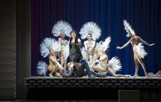 Michael Fabiano i Vesselina Kasarova al 3er acte de Rigoletto segons Claus Guth a l'ONP. © Monika Rittershaus/OnP