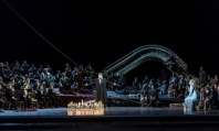 Tannhäuser acte 2 ROH Producció de Tim Albery copyright ROH. Photo by Clive Barda.