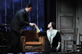 Saimur Pirgu i Eleonora Buratto a l'acte primer de La Bohème Fotografia © Antoni Bofill