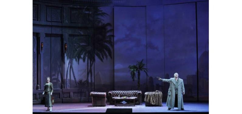 Die Ägyptische Helena a la Staatsoper de Berlín, producció de Marco Arturo Marelli Fotografia © 2009, Marcus Lieberenz