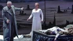 Ricarda Merbeth (Helena) a la Deutsche Oper de Berlín. Fotografia Marcus Lieberenz