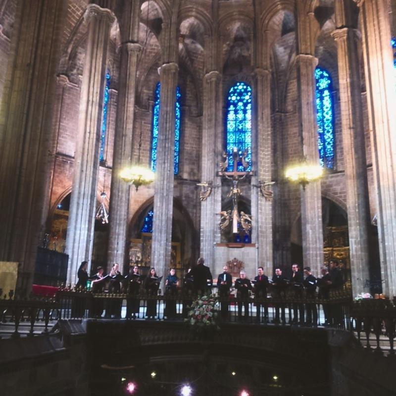 Cor de Cambra Francesc Valls. Catedral de Barcelona 11 de juny de 2016 Foto IFL