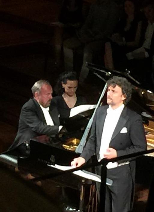 Jonas Kaufmann i Helmut Deutsch Palau de la Música Catalana 09 de juny de 2016. Fotografia gentilesa d'Albert Valero