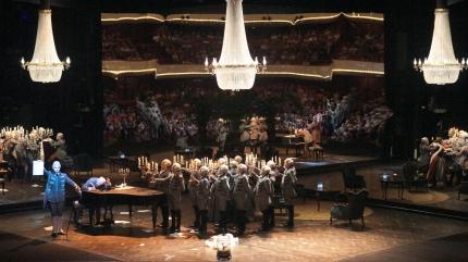 Pikovaia Dama , producció de Srefen Herheim per a la Dutch National Opera d'Amsterdam