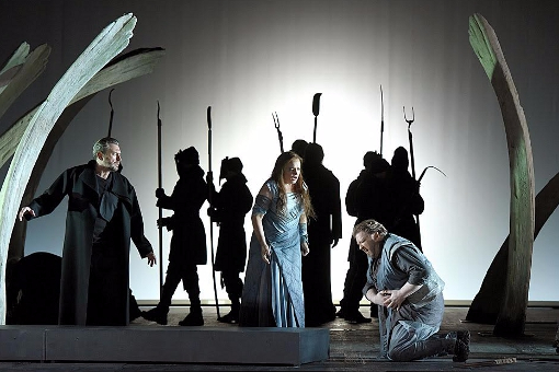 Tristan und Isolde al Théâtre des Champs-Elysées. Producció de Pierre Audi amb Polegato, Nicholls i Kerl, Fotografia © Vincent Pontet
