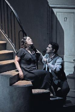 Eleonora Buratto  (Mimi) i Saimur Pirgu (Rodolfo) Foto © Antoni Bofill
