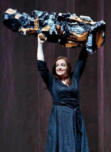 Ricarda Merbeth (Senta) «Der fliegende Holländer»-Szene. Foto: Enrico Merbeth