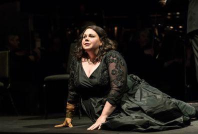 Katherine Broderick (Brünnhilde). Fotografia: Clive Barda
