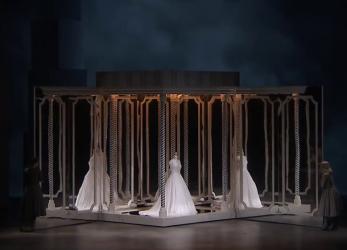 Final acte 1er Béatrice et Bénédict Producció Laurent Pelly Glyndebourne 2016