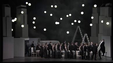 Béatrice et Bénédict, Producció de Laurent Pelly Festival de Glyndebourne 2016 Acte 2on