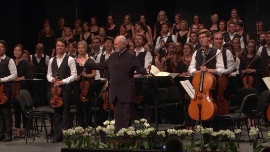 López Cobos i L'Orquestra del Festival de Verbier