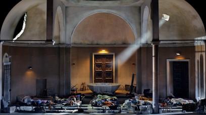 Parsifal, Bayreuther Festspiele 2016. Producció de Laufenberg. Foto Enrico Nawrath