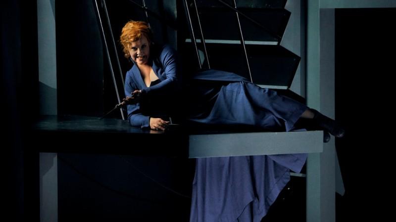 Petra Lang (Isolde) Bayreuth 2016 Producció de Katharina Wagner