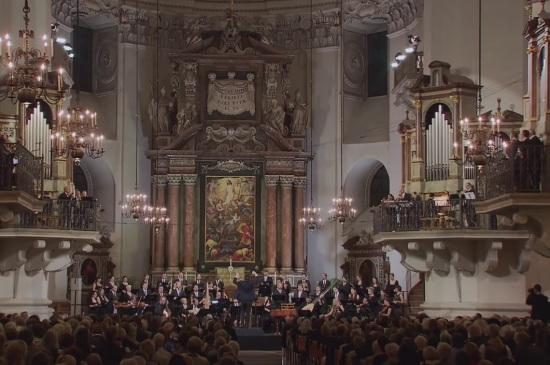 Catedral de Salzburg 27 de juliol de 2016. Festival de Salzburg 2016 Missa Salisburgensis Collegium Vocale 1704