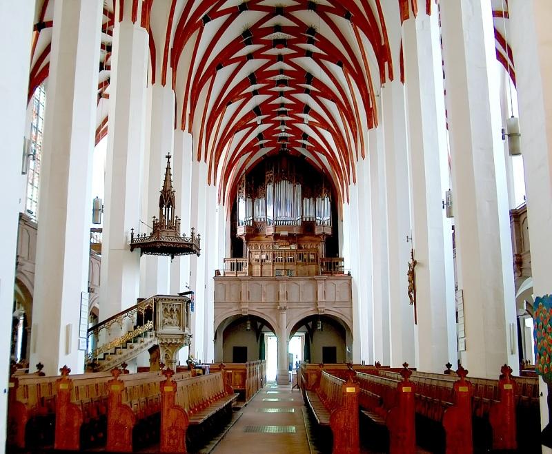 Die Thomaskirche de Leipzig